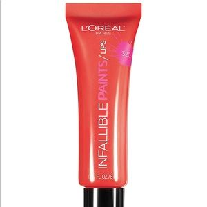 L'Oreal 2pk Infallible Lip Paint Cool Curry 320